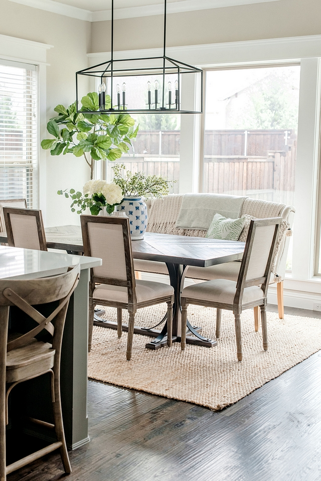 Neutral dining room off kitchen Neutral dining room decor Neutral dining room design Neutral dining room ideas Neutral dining room Neutral dining room #Neutraldiningroom #diningroom