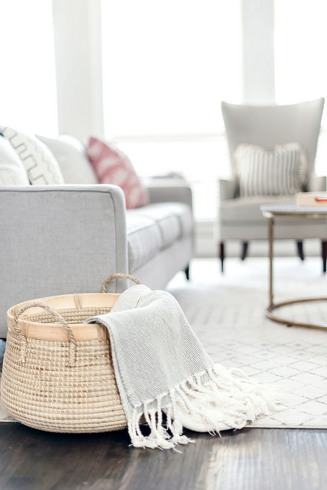 Baskets always bring a home-sweet-home feel to any space #baskets #homedecor #home #homesweethome
