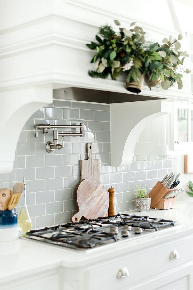 White kitchen with grey subway tile Backsplash is DalTile Desert Gray White kitchen with grey subway tile Backsplash is DalTile Desert Gray White kitchen with grey subway tile Backsplash is DalTile Desert Gray White kitchen with grey subway tile Backsplash is DalTile Desert Gray #Whitekitchen #greysubwaytile #greyBacksplash #DalTileDesertGray