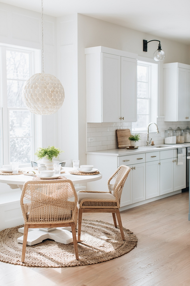 Classic Gray by Benjamin Moore Kitchen and breakfast nook paint color Classic Gray by Benjamin Moore Kitchen and breakfast nook paint color #ClassicGraybyBenjaminMoore #Classicgray #benjaminmoore #Kitchen #breakfastnook #paintcolor
