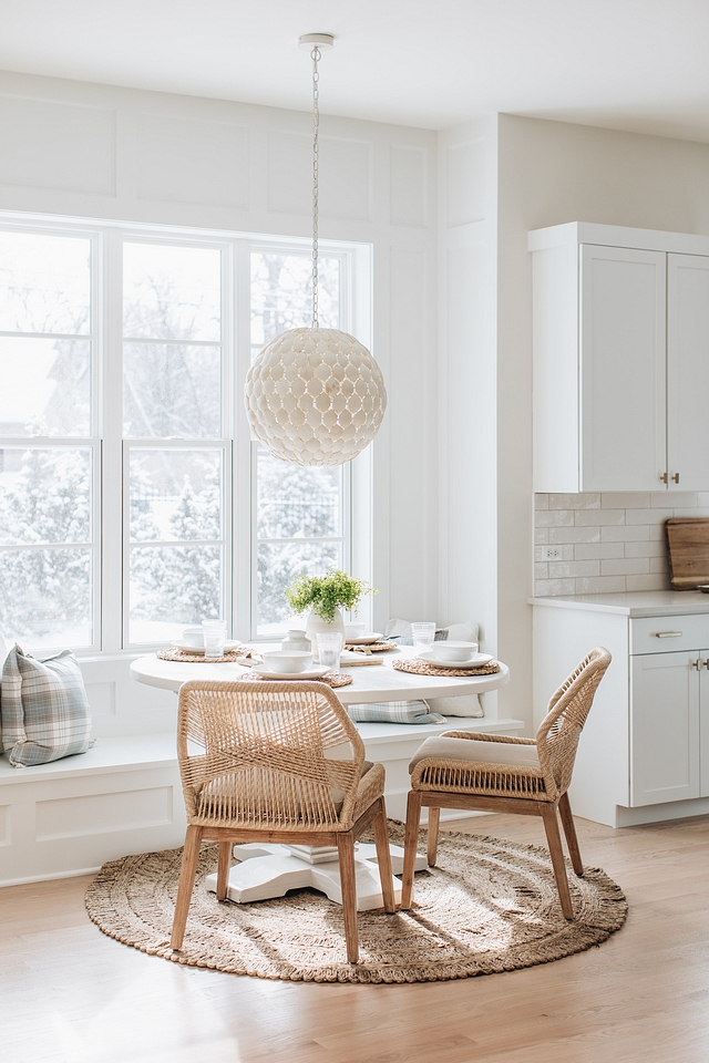 Coastal Farmhouse Breakfast Nook Paint color Benjamin Moore Classic Gray Coastal Farmhouse Breakfast Nook Paint color Benjamin Moore Classic Gray #CoastalFarmhouse #BreakfastNook #BreakfastNookPaintcolor #BenjaminMooreClassicGray