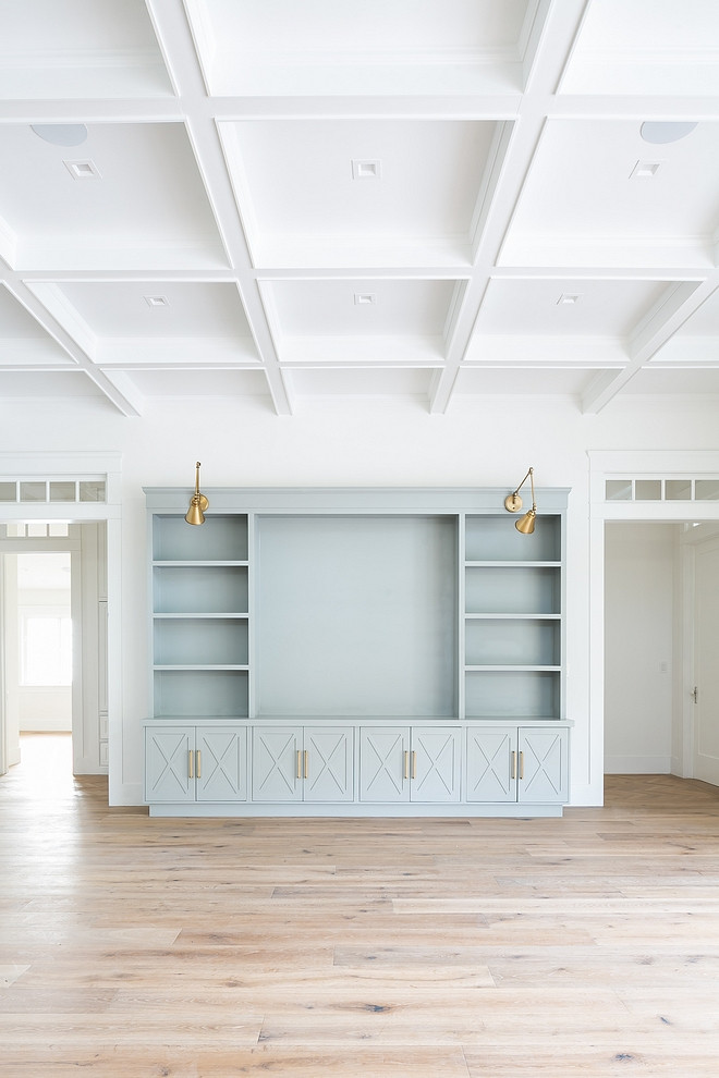 Light grey blue bookcase built in Light grey blue bookcase built in paint color Light grey blue bookcase built ins Light grey blue bookcase built in #Lightgreybookcase #lightgreypaintcolor #lightgrey #bookcase #builtin