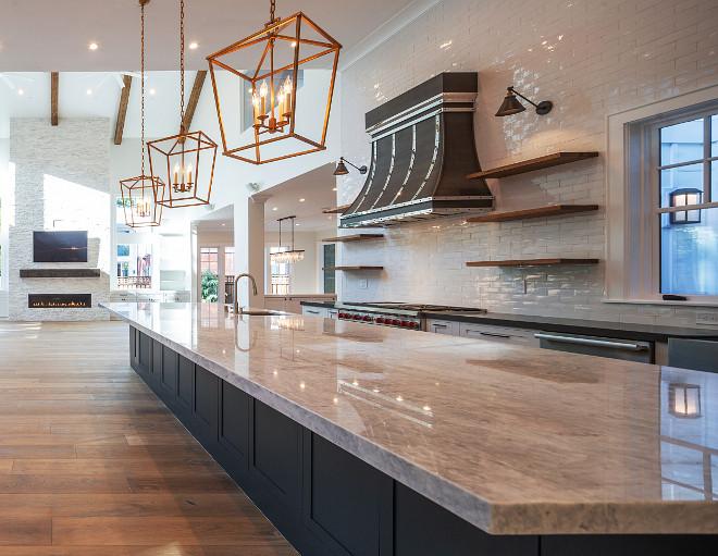 Long Kitchen Island Long Kitchen Island Design Long Kitchen Island Ideas Long Kitchen Island dimensions #LongKitchenIsland