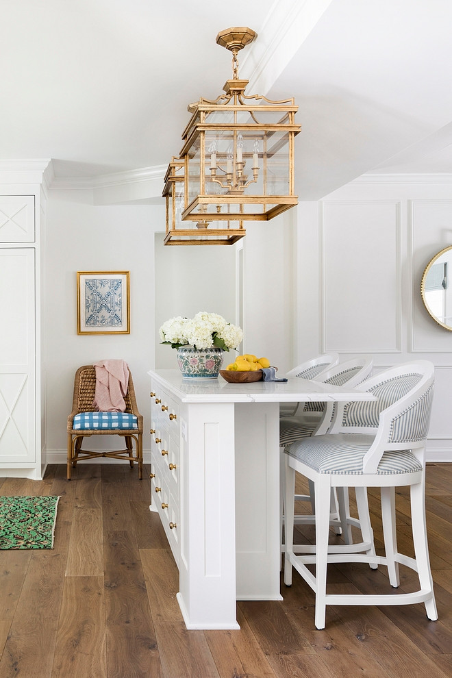 Narrow Kitchen Island Narrow Kitchen Island: Let's be honest, not all of us have a huge kitchen and this is when a narrow, but functional, kitchen island comes handy