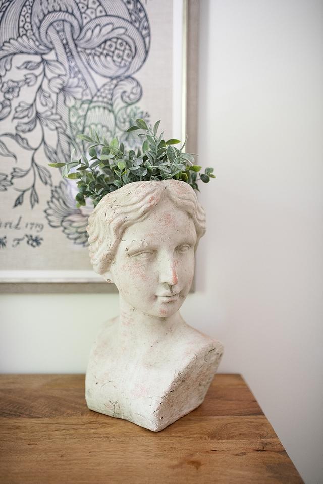 Bust Planter Bust Planter Traditional Bust Planter #BustPlanter #planter #homedecor