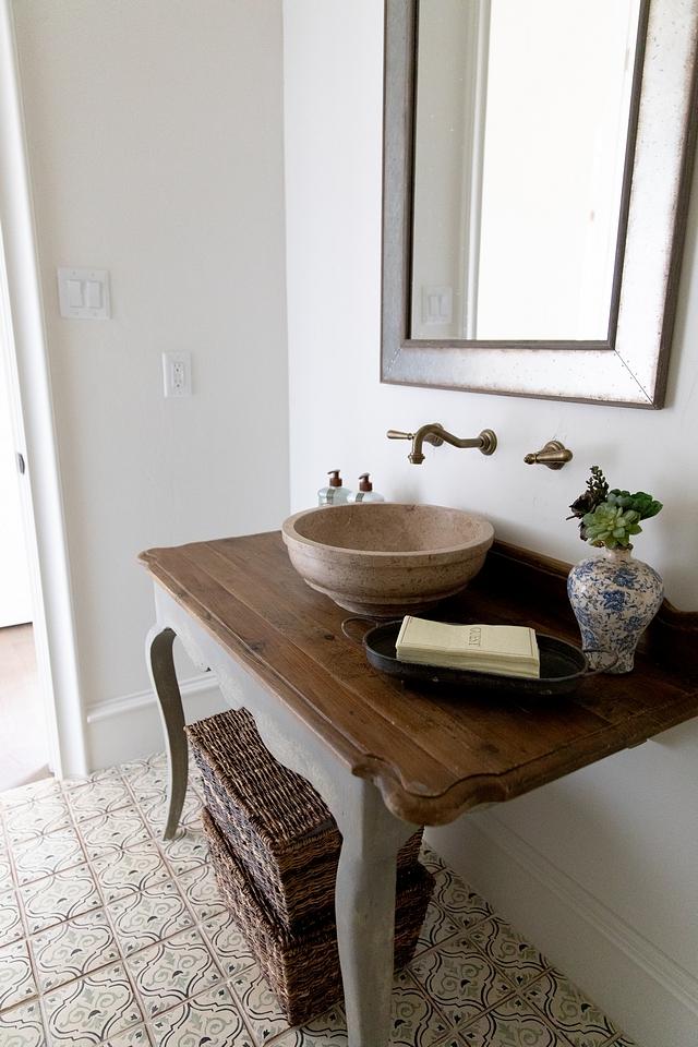 Repurposed vanity I really loved how we custom made this vanity from a repurposed desk Repurposed bathroom vanity Repurposed bathroom vanity Repurposed bathroom vanity #Repurposedbathroomvanity #Repurposedvanity #bathroomvanity