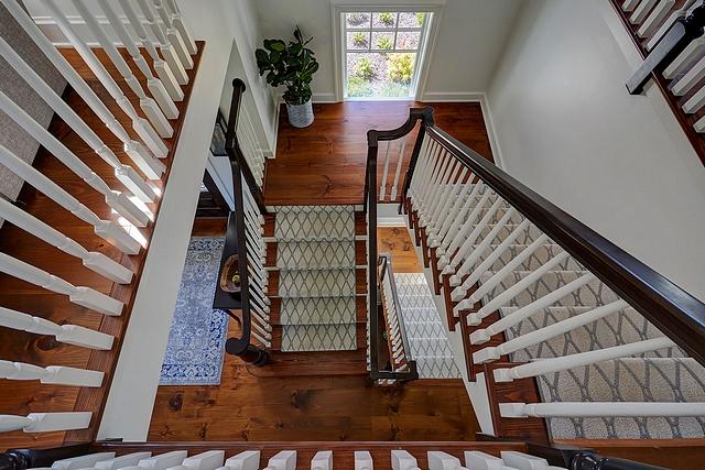 White pine flooring Staircase White pine treads White pine flooring White pine flooring #Whitepineflooring #pineflooring