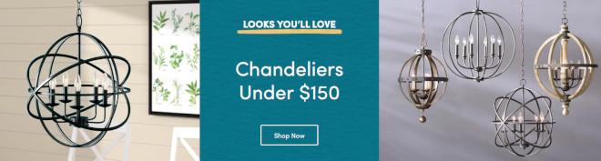 Chandeliers Under $150 sale