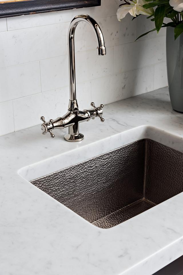 Brushed nickel Hammered sink Prep sink Brushed nickel Hammered sink ideas Kitchen Sink Brushed nickel Hammered sink #Brushednickelsink #Hammeredsink