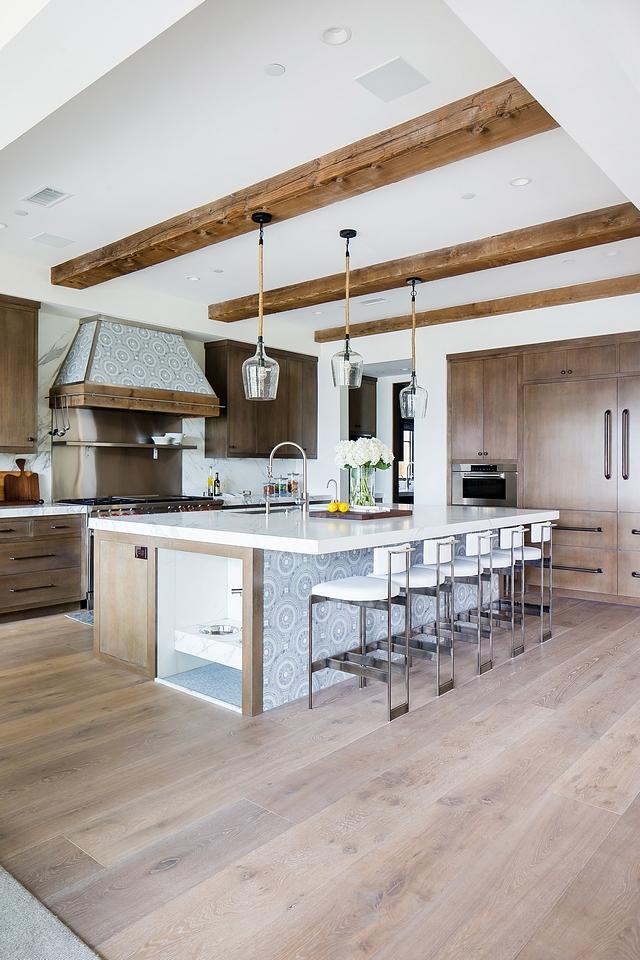 Vintage wood beams kitchen with European White Oak Hardwood Flooring Kitchen Beams Vintage wood beams kitchen Beams Vintage wood beams kitchen ceiling beams #Vintagewoodbeams #kitchen #ceilingbeams #beams