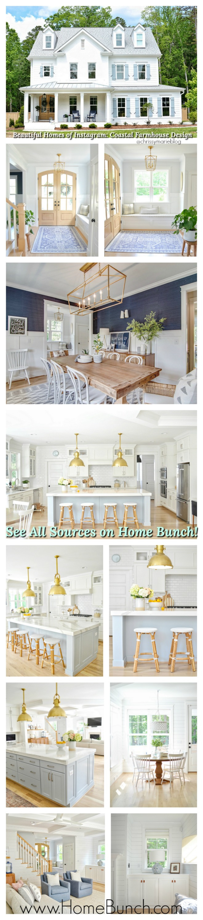 Beautiful Homes of Instagram Coastal Farmhouse Design