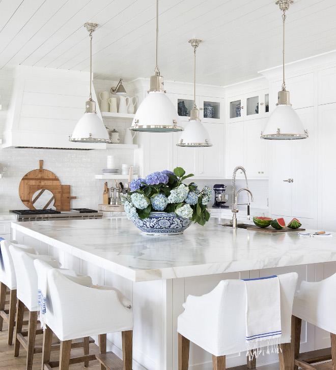 Extra White Calacatta Marble countertop