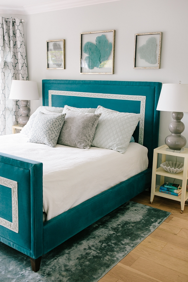 Coastal Bedroom Bed
