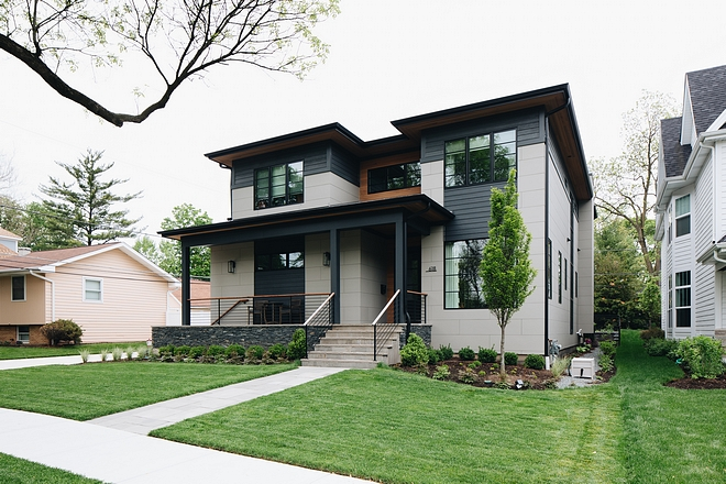 Modern New Construction Home