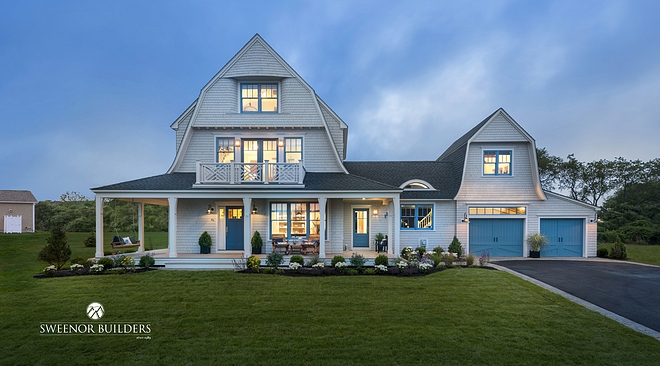 Gambrel Shingle Home