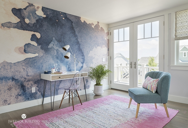 Watercolour Paint Mural