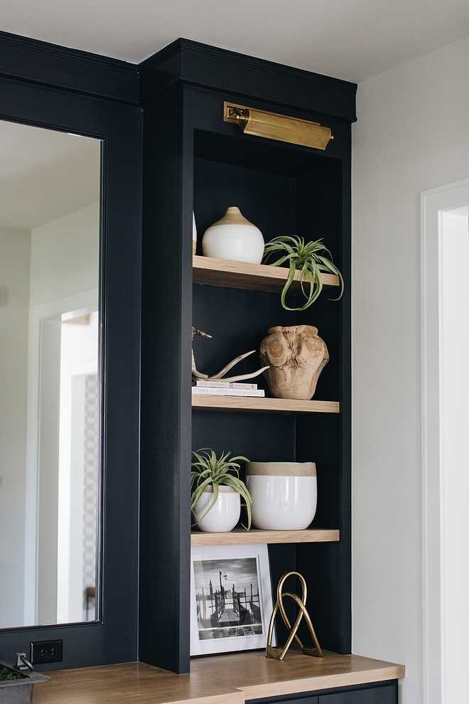 Black Cabinet Paint Color