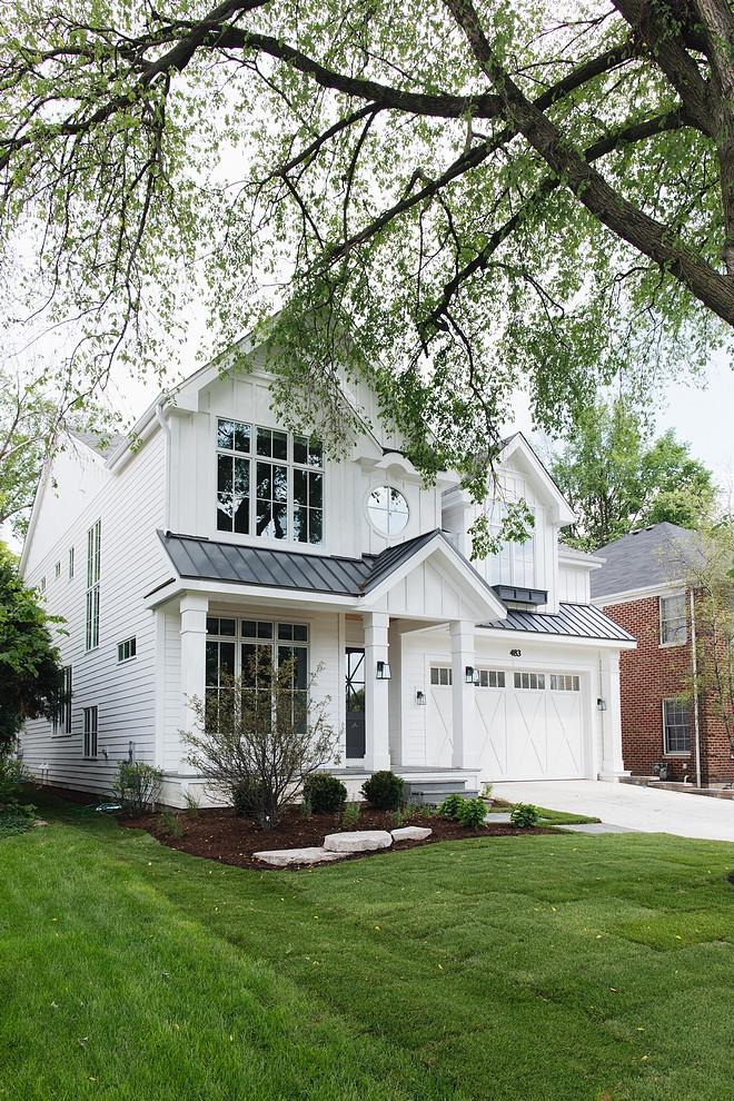 Top 5 White Modern Farmhouse Exteriors Home Bunch