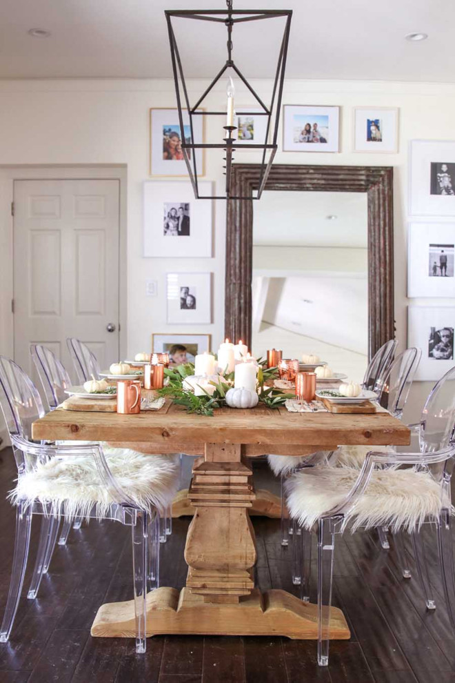 30 Beautiful And Cozy Fall Dining Room Décor Ideas: Home Bunch Interior Design Ideas