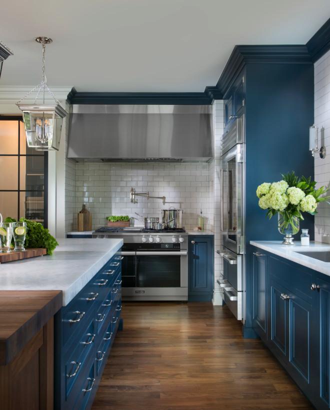 Navy Blue Kitchen Home Bunch Interior Design Ideas