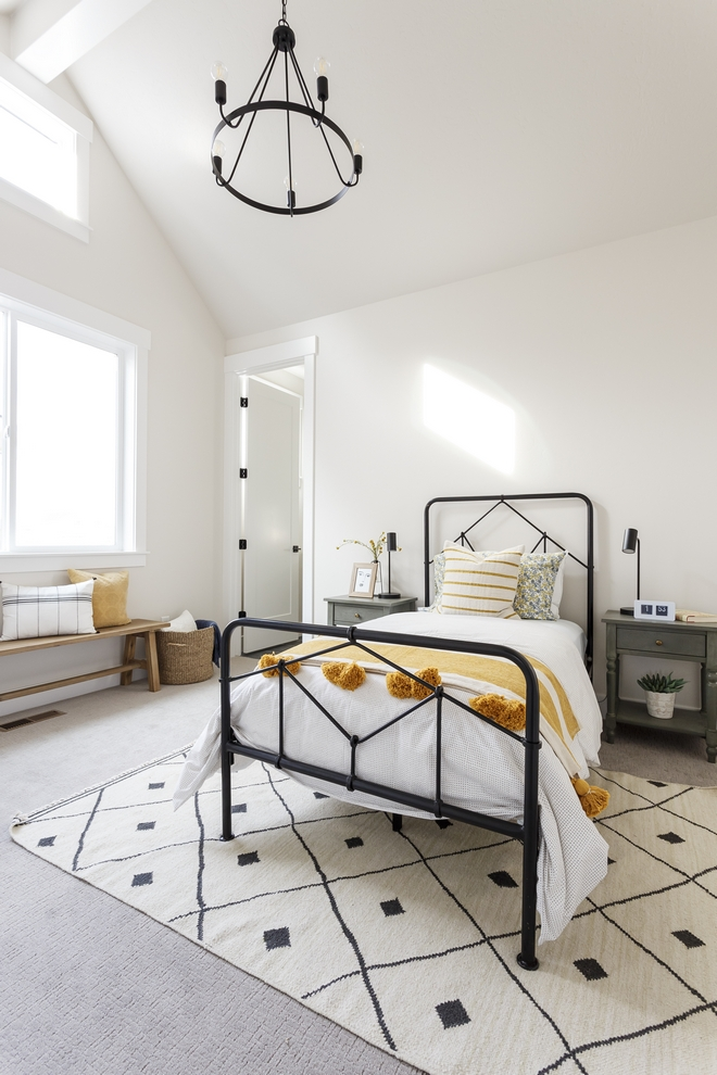 Interior Design Of Guest Room: New-construction Modern Farmhouse Home