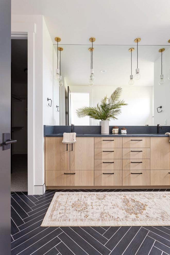 Black Modern Farmhouse With Black Amp White Interiors Home