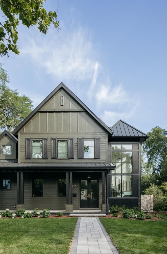 New-construction Modern Farmhouse - Home Bunch Interior ... on Modern Siding  id=99689