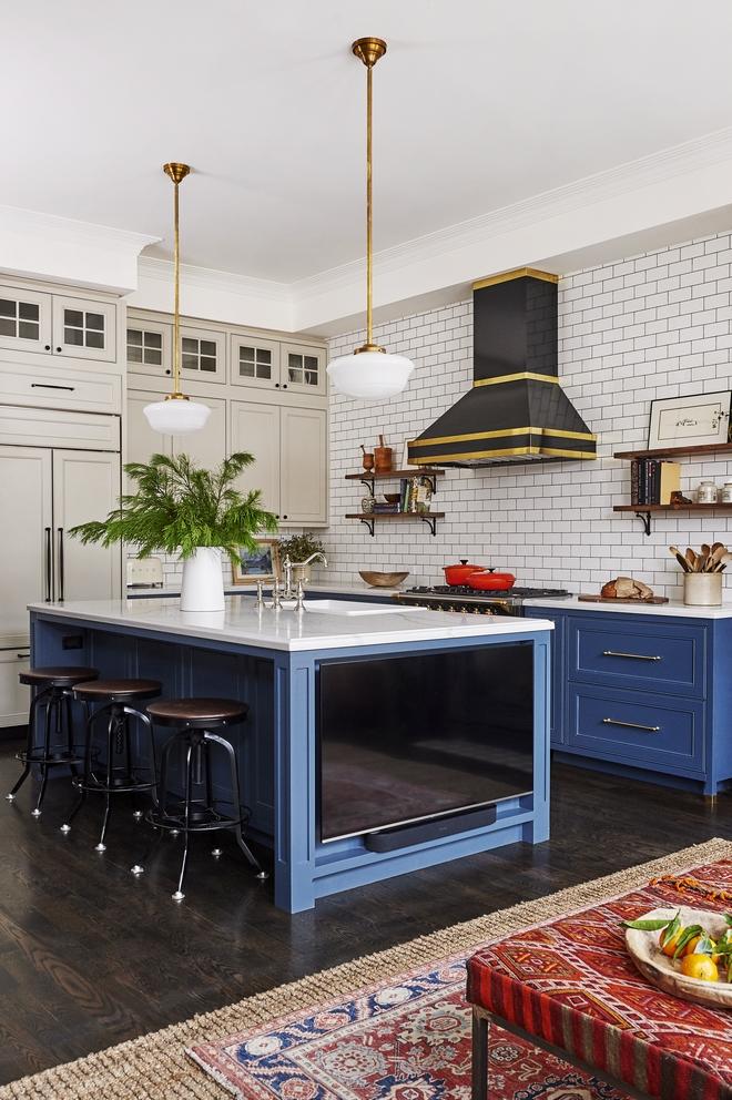 Navy Blue Kitchen Design Home Bunch Interior Design Ideas