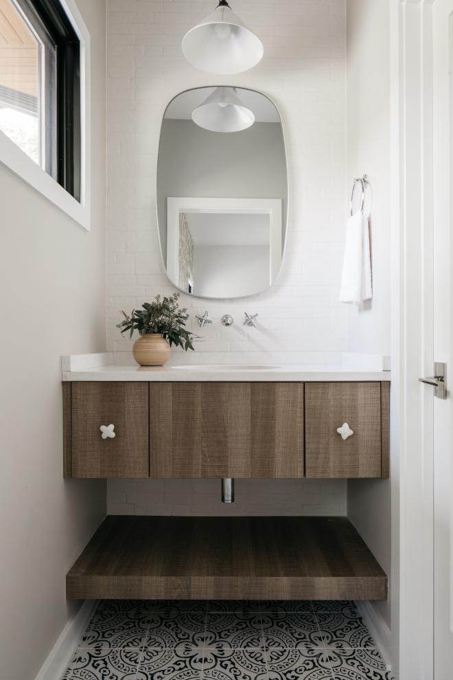 Floating Vanity Bathroom Semi-custom Cabinetry