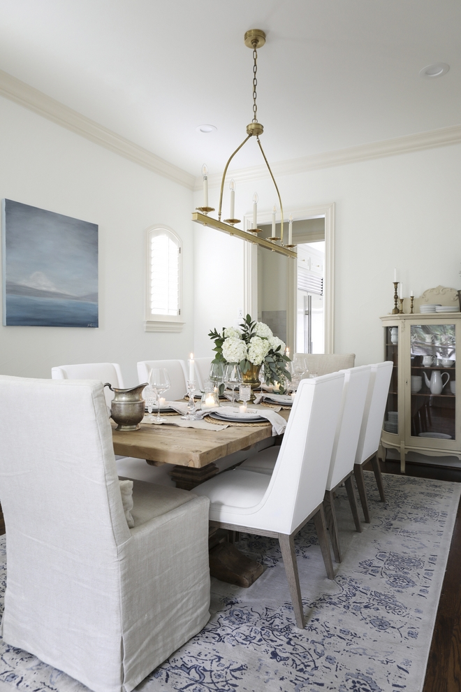 Dining Room Paint Color Benjamin Moore Swiss Coffee