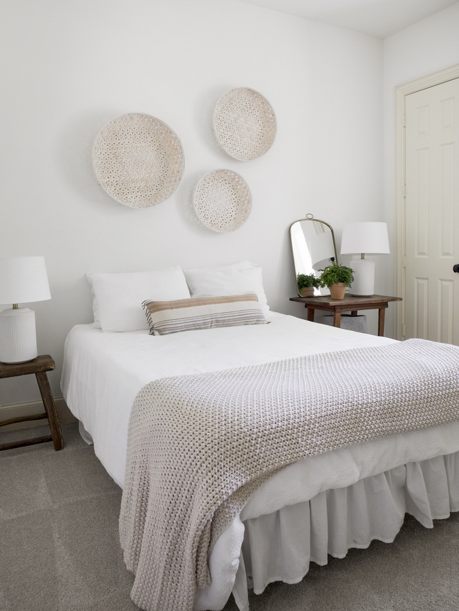 Neutral French Farmhouse Bedroom