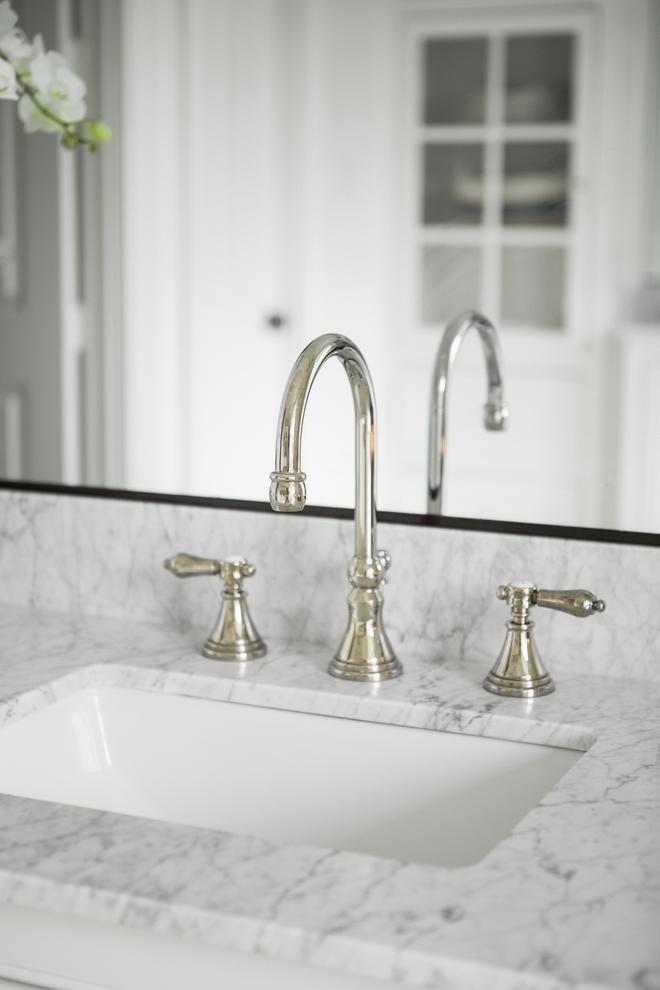Carrara Marble in bathrooms