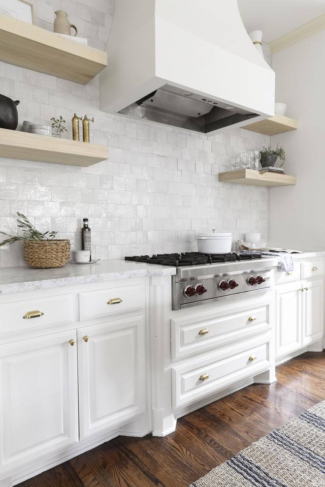 Perimeter Kitchen Cabinet Paint Color: Benjamin Moore Swiss Coffee