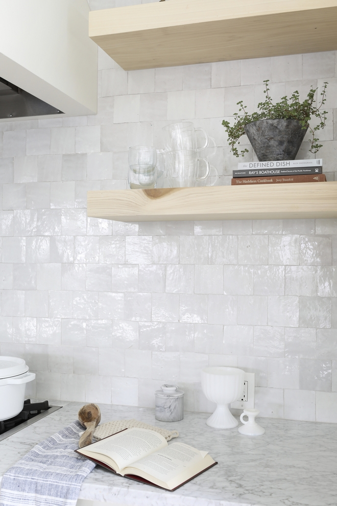 Kitchen Floating Shelves Styling