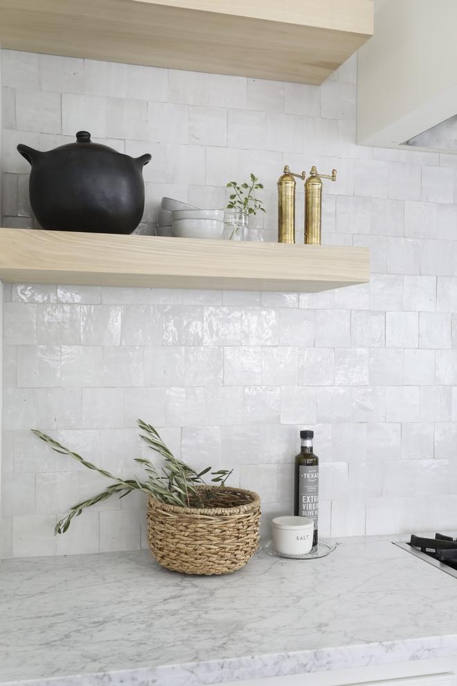 Kitchen Backsplash Countertop Combination