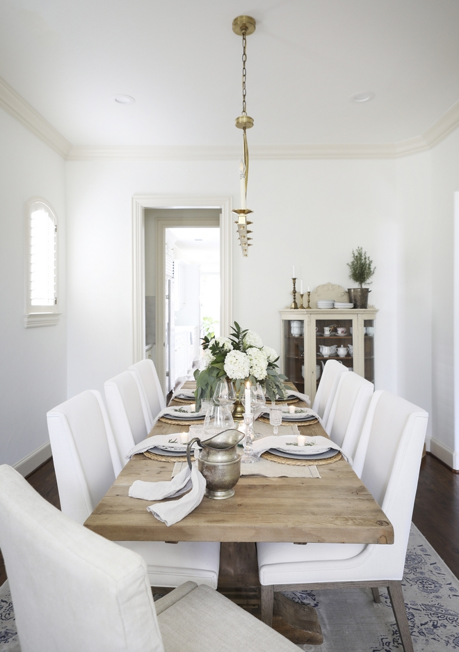 Easy Dining Table Tablescape Ideas