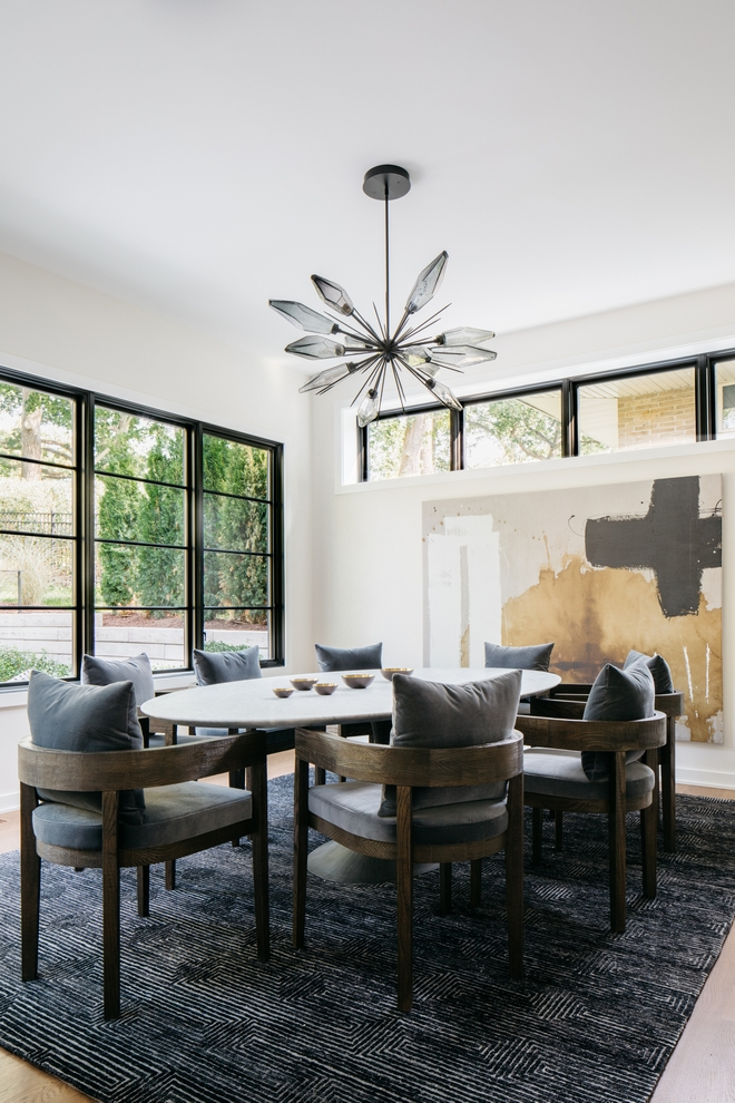 Mid century Modern 2021 Dining Room