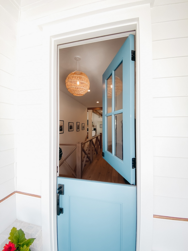 Sherwin Williams SW 6479 Drizzle Turquoise Front Door color Sherwin Williams SW 6479 Drizzle