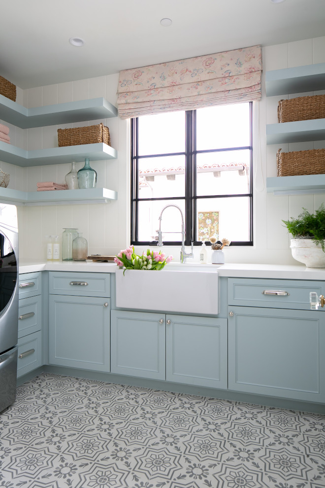Benjamin Moore Smoke is one the most popular blue cabinet paint colors for laundry rooms Benjamin Moore Smoke Benjamin Moore Smoke Benjamin Moore Smoke Benjamin Moore Smoke Benjamin Moore Smoke Benjamin Moore Smoke Benjamin Moore Smoke #BenjaminMooreSmoke
