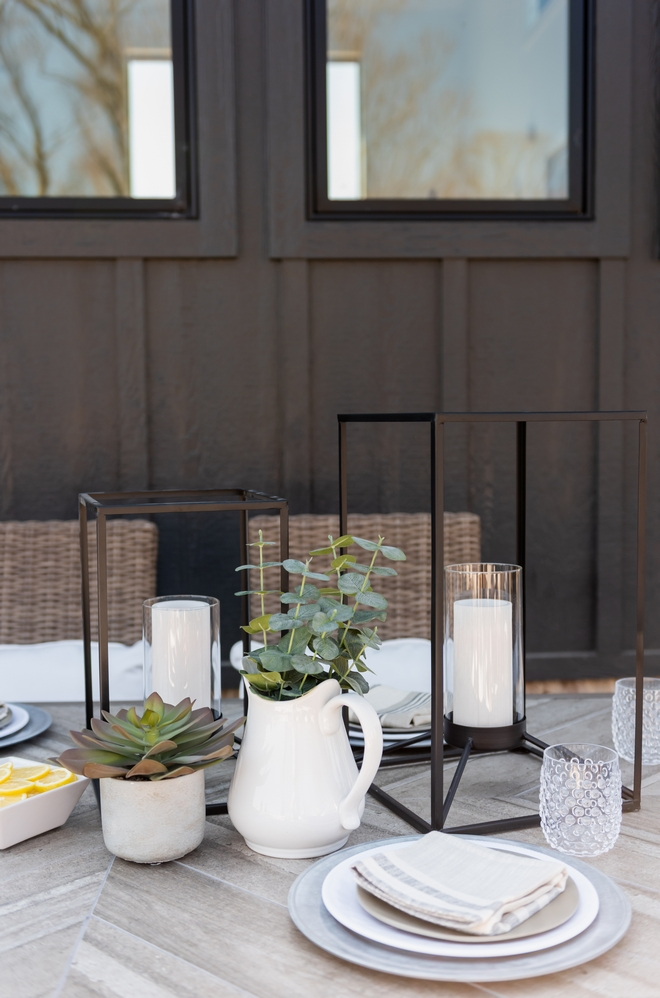 Patio Dining Table Decor Patio Dining Table Styling Patio Dining Table Decor