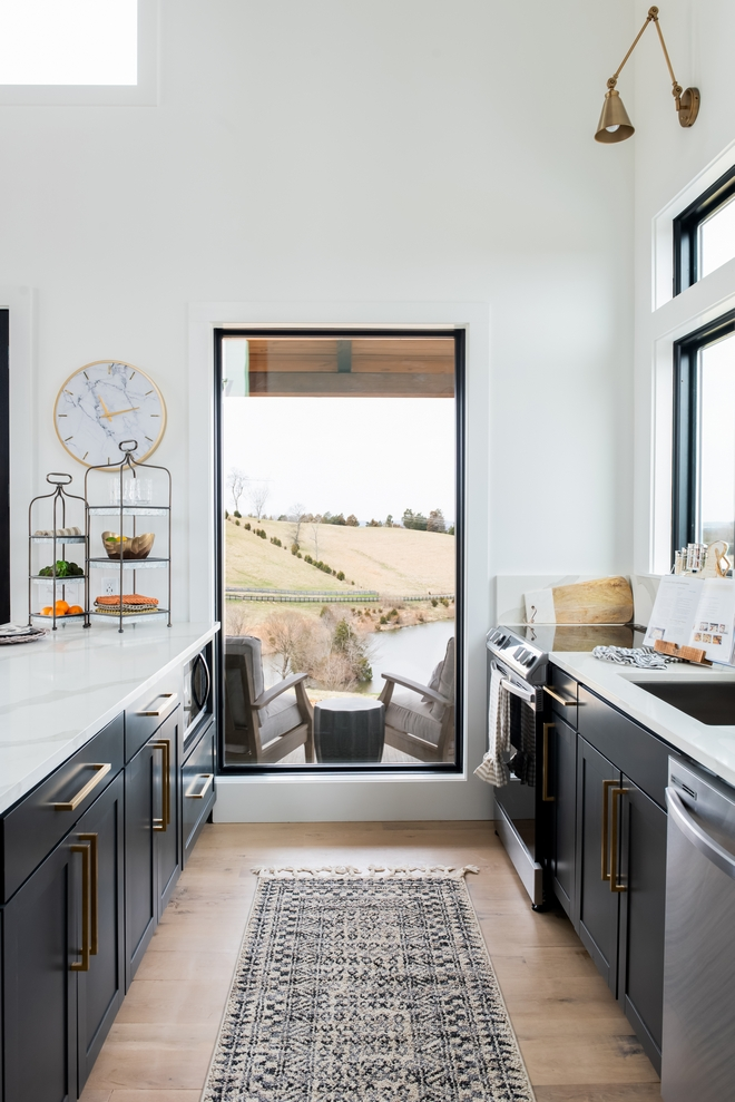 Kitchen Window View Framing view with windows in kitchen Kitchen View Window Ideas