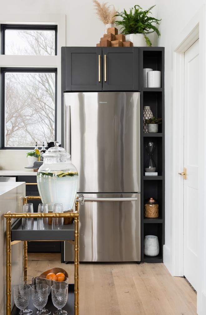 Kitchen Refrigerator cabinet layout Kitchen Refrigerator cabinet layout ideas Kitchen Refrigerator cabinet layout for small kitchens