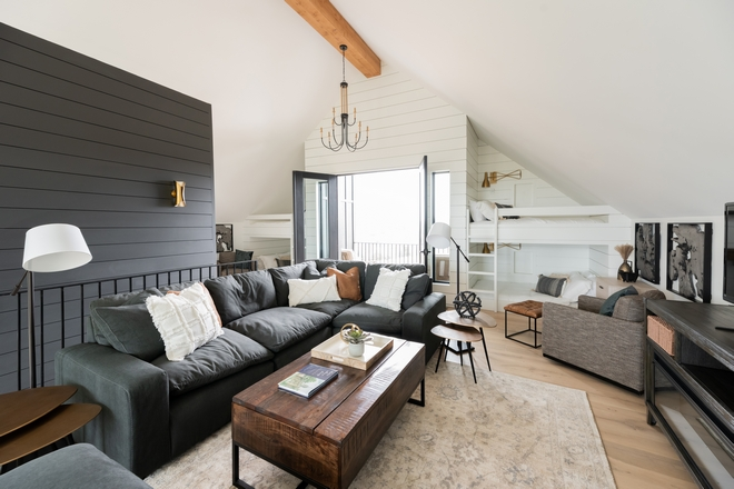 Modern Farmhouse Loft with Bunk Beds