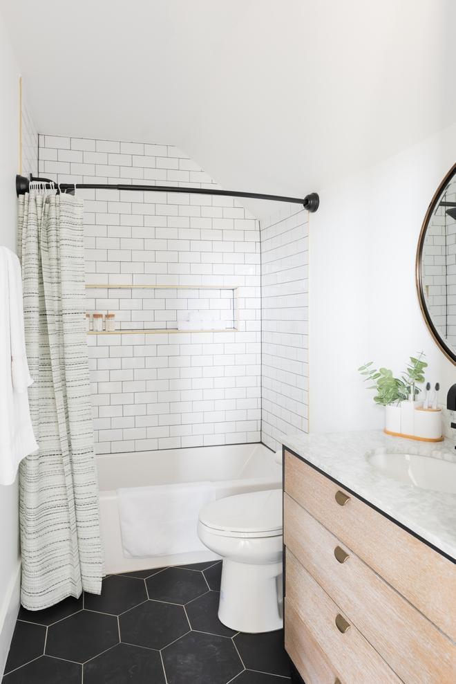 Modern Farmhouse Guest Bathroom