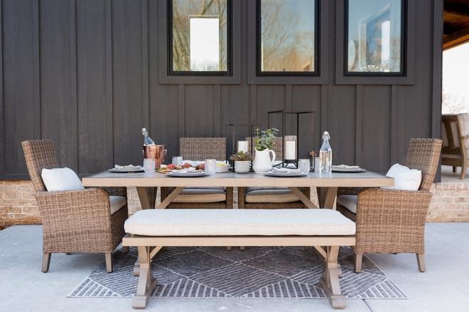 Outdoor Dining Area Patio Furniture