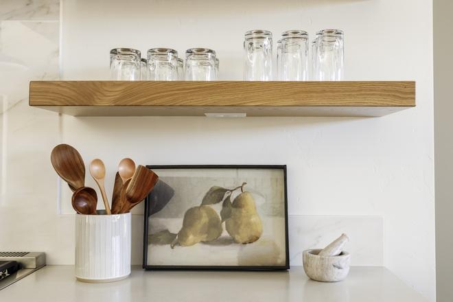 White Oak Floating Shelf Kitchen White Oak Floating Shelf