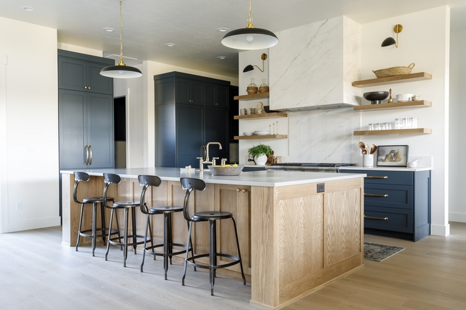White Oak Kitchen Island Stain Color Stained Sherwin Williams Rustic Gray White Oak