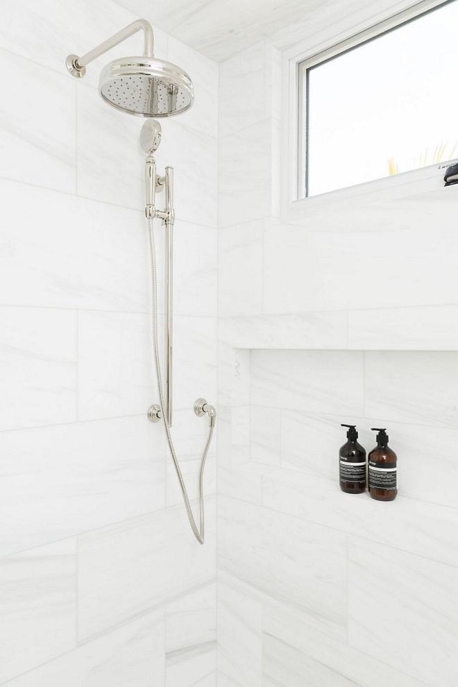 Dolomite Marble Shower Tile
