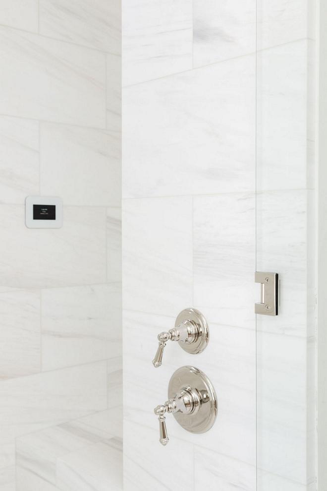Marble White Marble Shower Tile