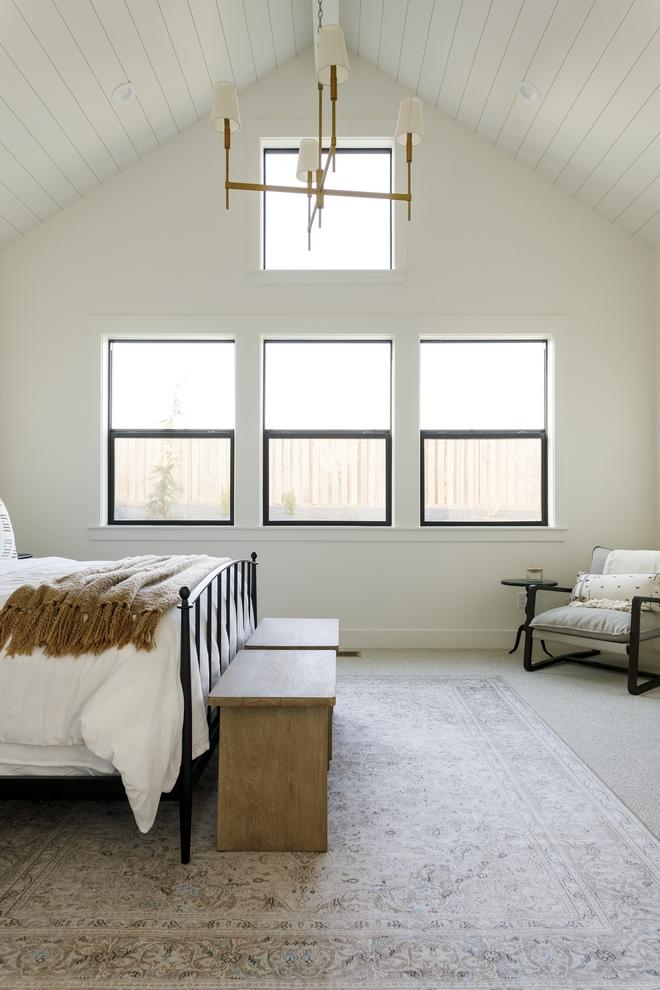 Vaulted Ceiling Bedroom Window Ideas